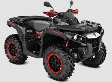 CAN-AM OUTLANDER X XC 1000 T 2021 - Black/Hyper Silver/Can-Am Red