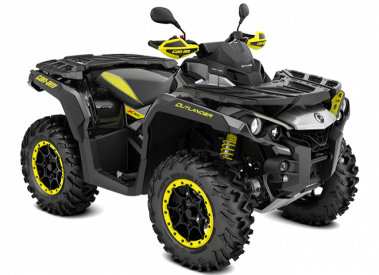 CAN-AM OUTLANDER X XC 1000 T ABS 2019, 105 km/h - Kelta-Musta