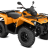 CAN-AM OUTLANDER DPS 450 T ABS 2019, 105 km/h - Oranssi-thumbnail