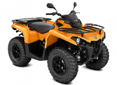 CAN-AM OUTLANDER DPS 450 T ABS 2019, 105 km/h - Oranssi