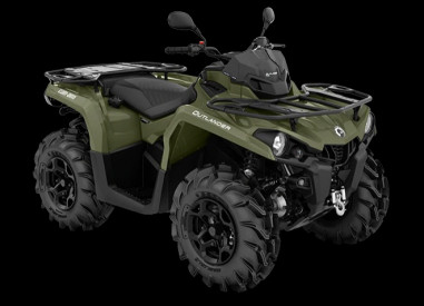 CAN-AM OUTLANDER PRO+ 450 T 2020, 60 km/h - Vihreä
