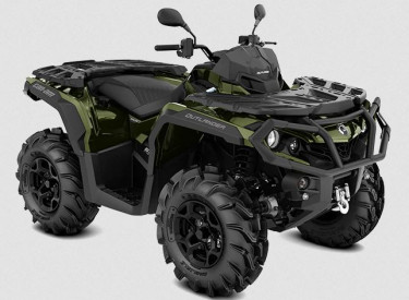 CAN-AM OUTLANDER XU+ 650 T 2021, max. 60 km/h - Boreal Green