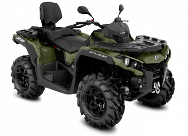 CAN-AM OUTLANDER MAX PRO+ 570 T 2019, 60 km/h - Vihreä