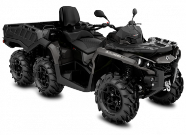 CAN-AM OUTLANDER MAX 6X6 PRO+ SIDEWALL 1000 T 2019, 60 km/h - Magnesium Harmaa