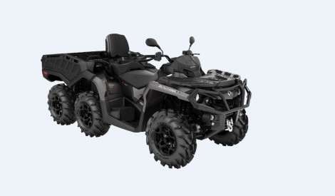 CAN-AM OUTLANDER MAX 6X6 XU+ 1000 T 2021, max 60 km/h - Pure Magnesium Metallic