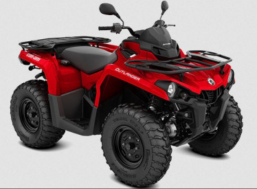 CAN-AM OUTLANDER STD 570 T 2021, max. 60km/h - Viper Red
