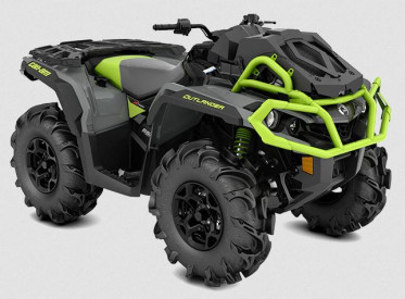 CAN-AM OUTLANDER X MR 650 2021 - Granit Gray/Black/Manta Green