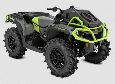 CAN-AM OUTLANDER X MR 1000R 2021 - Granit Gray/Black/Manta Green