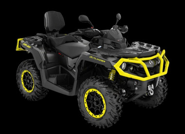 CAN-AM OUTLANDER MAX XT-P 1000 T ABS 2020, yli 60 km/h - Black/Yellow
