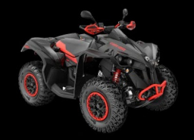 CAN-AM RENEGADE X XC 1000 T ABS 2020, yli 60 km/h - Black/Can-Am Red