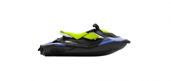 SEA-DOO SPARK 2UP IBR STD 90 2021 -  Dazzling Blue/Manta Green