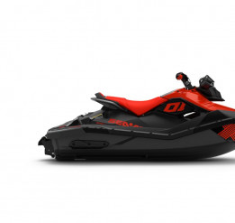 SEA-DOO SPARK 2UP IBR TRIXX 90 2021 - Lava Red/Deep Black Tuotekuva