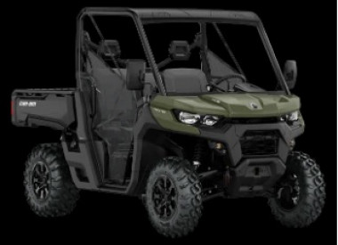 CAN-AM TRAXTER BASE HD8 T 2020 - Green