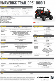 CAN-AM MAVERICK TRAIL DPS 1000 T 2020,  yli 60 km/h - Can-Am Red