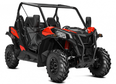 CAN-AM MAVERICK TRAIL DPS 800 T 2019 - Musta-Punainen