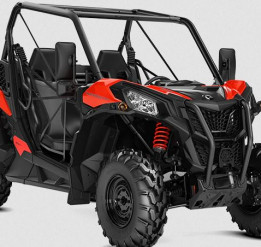 CAN-AM MAVERICK TRAIL BASE 800 T 2021,  max 60 km/h - Can-Am Red