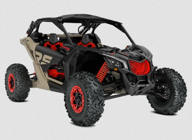 CAN-AM MAVERICK X RS TURBO R X RS TURBO RR with Smart-Shox 2021 - Desert Tan/Car