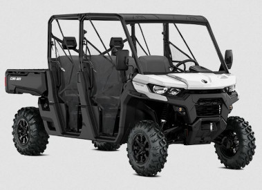 CAN-AM TRAXTER MAX DPS HD10 T 2021, max 60 km/h - Hyper Silver