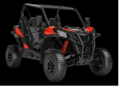 CAN-AM MAVERICK SPORT DPS 1000R T 2020, yli 60 km/h - Can-Am Red