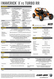CAN-AM MAVERICK X RC TURBO R 2020 - Orange Crush