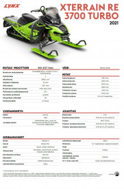 LYNX XTERRAIN RE 3700 900 ACE TURBO 2021 - Manta Green