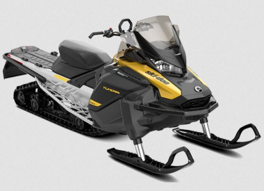 SKI-DOO TUNDRA LT 600 EFI ES 2021 - Neon Yellow/Black/Full Moon