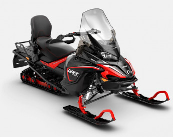 LYNX XTRIM LX 600 ACE 2021 - Viper red / Black
