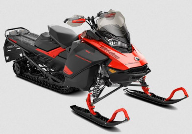 SKI-DOO BACKCOUNTRY STD 600R E-TEC ES 2021 - Lava Red/Black/Black