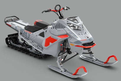 SKI-DOO FREERIDE 154 850 E-TEC ES 2021 - Lava Red/Catalyst Grey