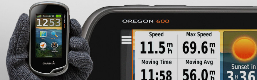 GARMIN OREGON® 600 GPS, Worldwide