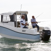 QUICKSILVER CAPTUR 555 PILOTHOUSE + MERCURY F80-thumbnail