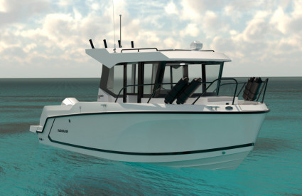 UUTUUS 2021: QUICKSILVER 705 PILOTHOUSE + MERCURY F150 XL