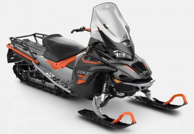 LYNX 49 RANGER PRO 4100 600R E-TEC 2022 - Race Orange/Full Moon Silver/Black