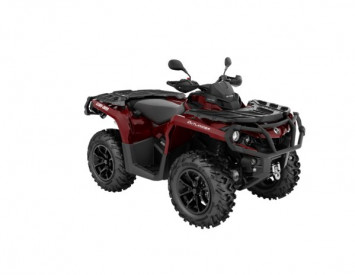 Can-Am Outlander XT T3B 650 ABS 105km/h 2018 pun